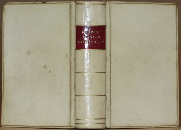 A New Pocket Dictionary of the Italian and English Languages by BLANC, S.H.