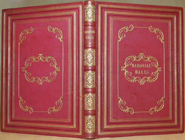 The Baronial Halls, Picturesque Edifices, and Ancient Churches of England. by HALL, C.S.