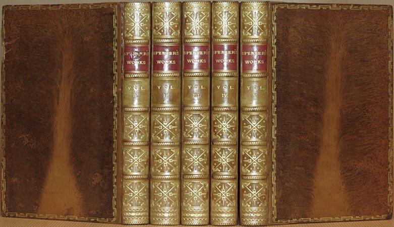 The Poetical Works of Edmund Spenser. by SPENSER, Edmund