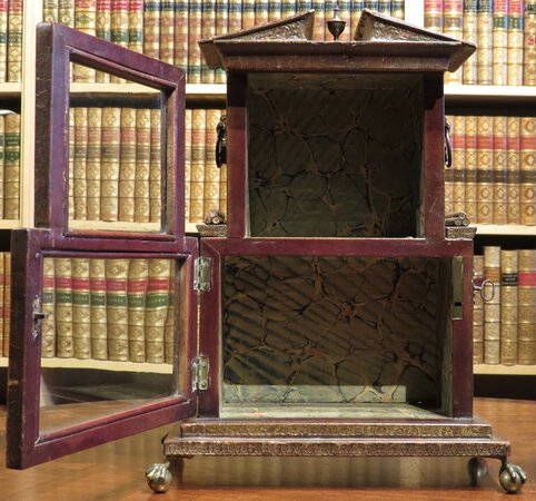 'Temple of the Muses' Miniature Bookcase by LACKINGTON, James (proprietor)