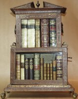 'Temple of the Muses' Miniature Bookcase by LACKINGTON, James (proprietor)