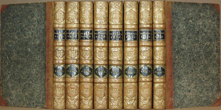 The History of the Decline and Fall of the Roman Empire. by GIBBON, Edward