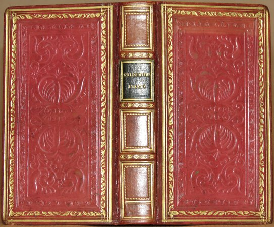Essays, Poems, and Plays, by Oliver Goldsmith. by GOLDSMITH, Oliver