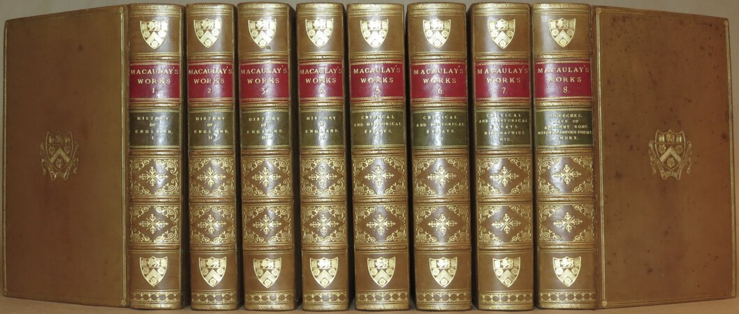 The Works of Lord Macaulay. by MACAULAY, Lord