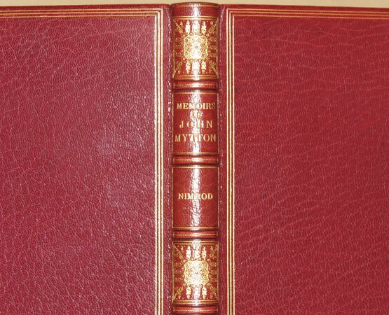 Memoirs of the Life of the Late John Mytton Esq. of Halston, Shropshire. by NIMROD (APPERLEY, Charles James). ALKEN, Henry, illustrator.