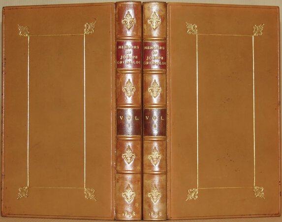 "Memoirs of Joseph Grimaldi. by (DICKENS, Charles), ""BOZ""."