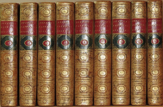 Natural History, General and Particular, by the Count de Buffon, Translated into English. by BUFFON, Count de, Georges-Louis Leclerc