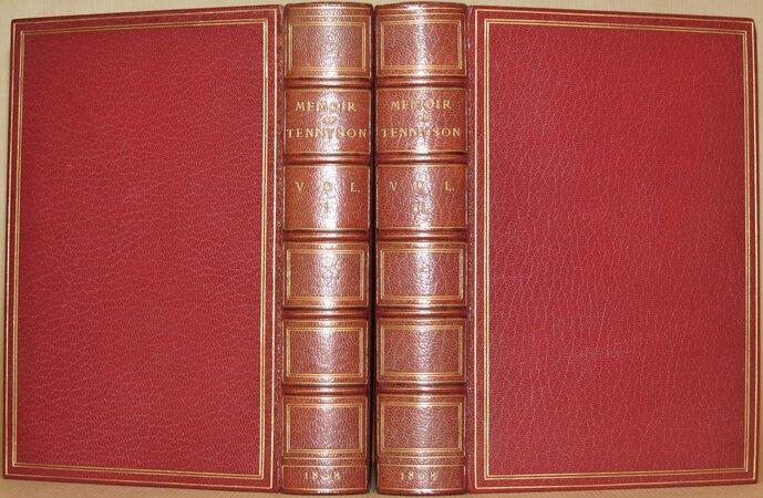 Alfred Lord Tennyson. A Memoir By His Son. by TENNYSON, Hallam