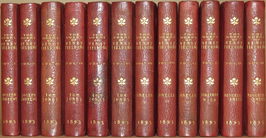 The Works of Henry Fielding. by FIELDING, Henry