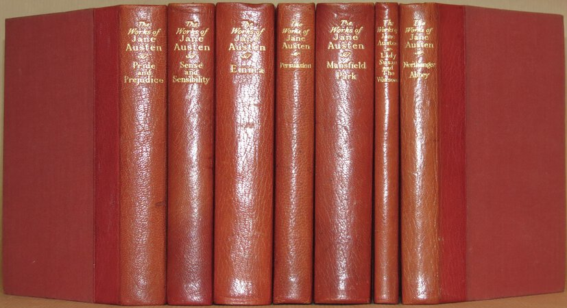 The Works of Jane Austen. (Pride and Prejudice; Sense and Sensibility; Northanger Abbey; Mansfield Park; Emma; Persuasion; Lady Susan and The Watsons ). by AUSTEN, Jane