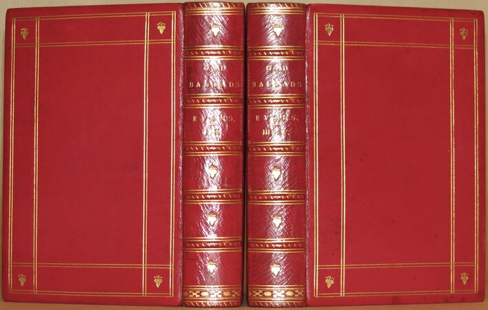Old Ballads, Historical and Narrative, with some of Modern Date; Collected from Rare Copies and Mss.. by EVANS, Thomas