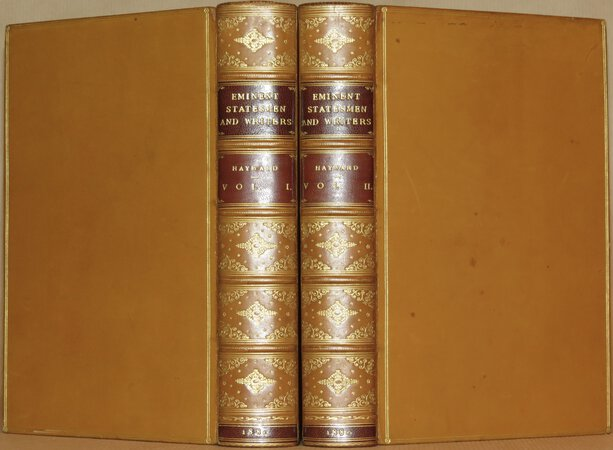 Sketches of Eminent Statesmen and Writers. by HAYWARD, Abraham