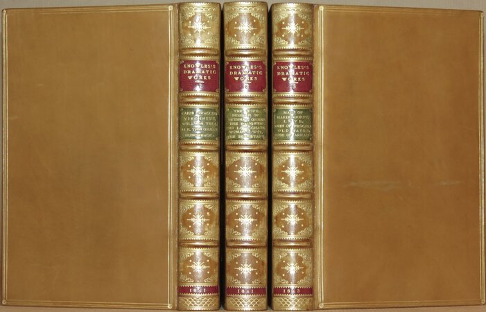 The Dramatic Works of James Sheridan Knowles. by KNOWLES, James Sheridan
