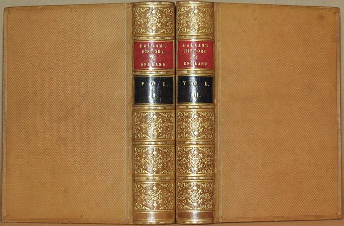 The Constitutional History of England. by HALLAM, Henry