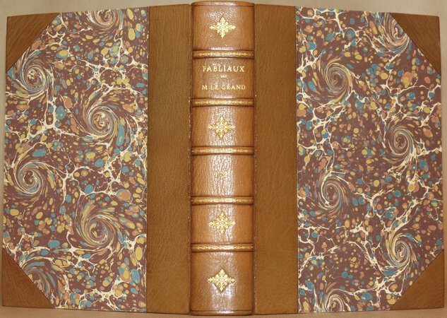 Fabliaux or Tales, abridged from French manuscripts of the XIIth and XIIIth centuries. by LE GRAND d'Aussy, Pierre Jean-Baptiste.