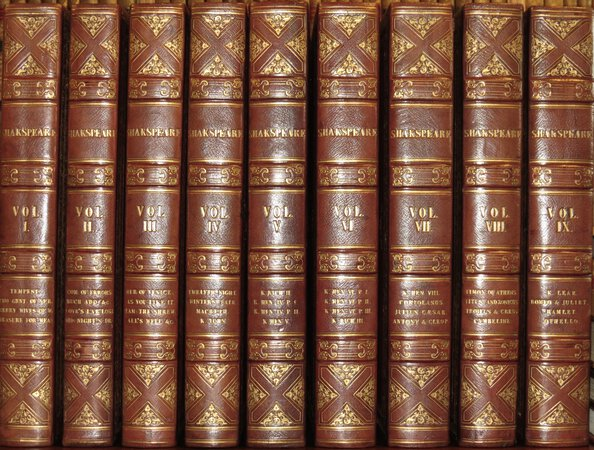 The Dramatic Works of Shakspeare. Revised by George Steevens. by SHAKSPEARE, William (Shakespeare)