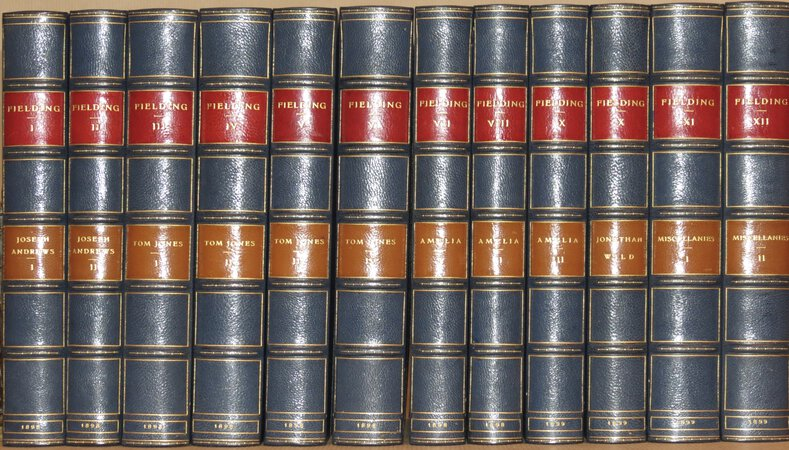The Works of Henry Fielding. (Comprising Joseph Andrews; Tom Jones; Amelia; Jonathan Wild; Miscellanies). by FIELDING, Henry