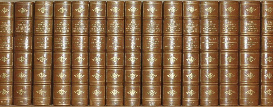 The Cambridge History of English Literature. by WARD & WALLER (Edited by)