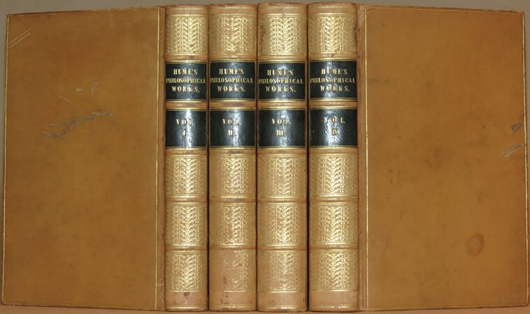 The Philosophical Works of David Hume. by HUME, David