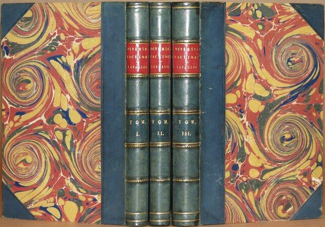 Histoire de L'Origine, Des Progres, Et de La Decadence des Diverses Factions…..Jusqu'a L'Abdication de Napoleon. by LAVALLEE, Joseph.