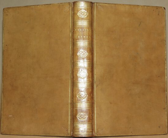 Hermes or A Philosophical Inquiry Concerning Universal Grammar. by HARRIS, James