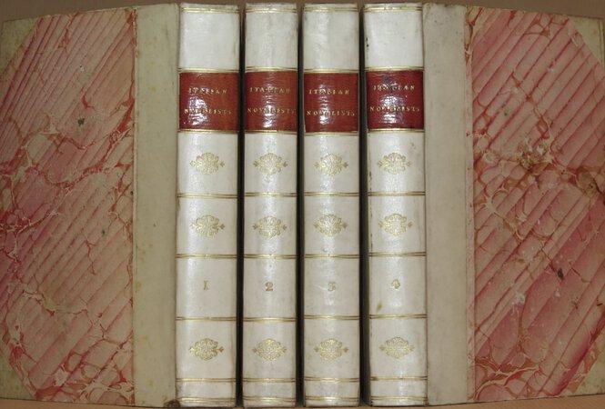 The Italian Novelists. by ROSCOE, Thomas