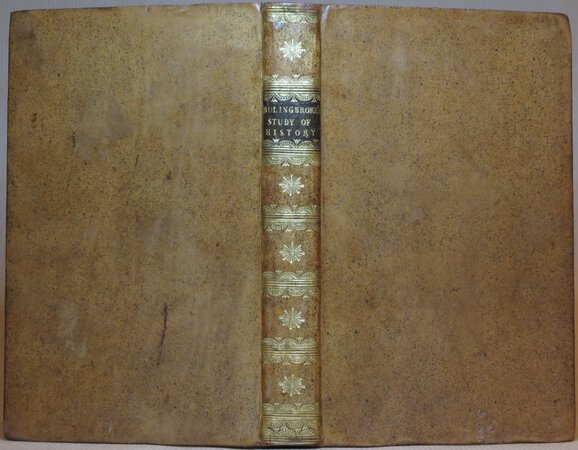Letters on the Study and Use of History by BOLINGBROKE, Henry St. John, Lord Viscount