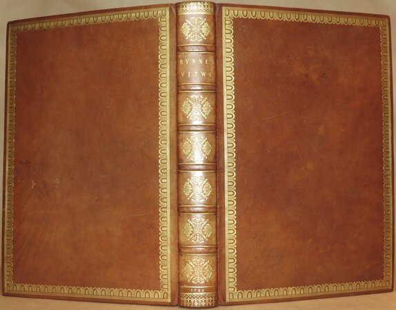 Antiquities of Great-Britain, Illustrated in Views of Monasteries, Castles, and Churches, Now Existing. by HEARNE, Thomas and BYRNE, William