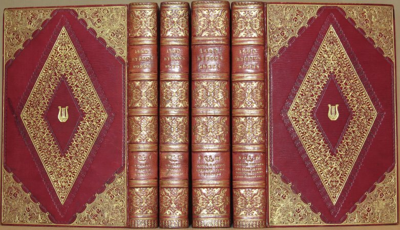 Lord Byron's Works (comprising Childe Harold's Pilgrimage; Giaour; The Bride of Abydos; Corsair; Lara; The Siege of Corinth; Mazeppa; Manfred; The Prisoner of Chillon; Beppo; Hebrew Melodies; Poems; The Lament of Tasso; Ode to Napoleon Buonaparte etc. by BYRON, Lord