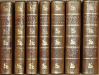 The Voyages of Captain James Cook Round the World, Printed Verbatim from the Original editions, and Embellished with a Selection of the Engravings. by COOK, James