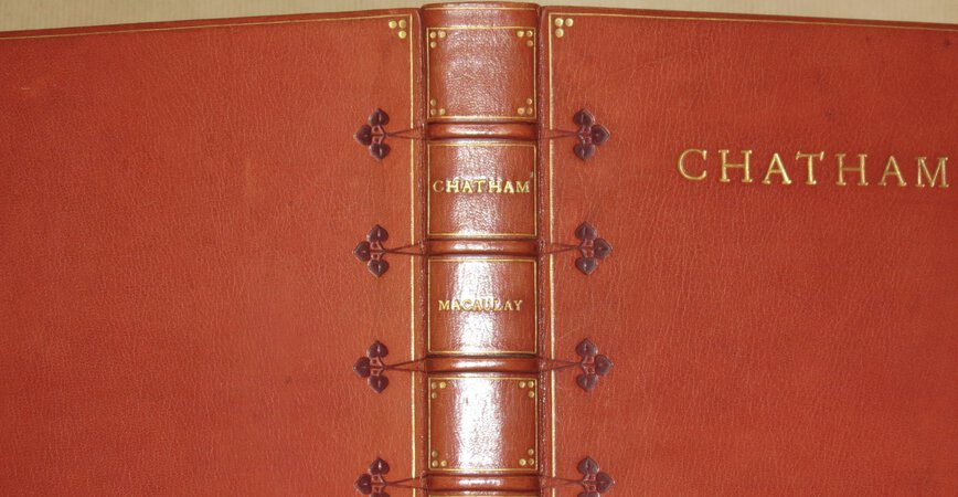 Two Essays on the Earl of Chatham by MACAULAY, Lord