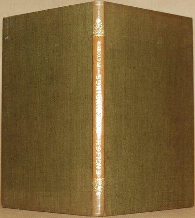 English Bookbindings. by FLETCHER, William Fletcher