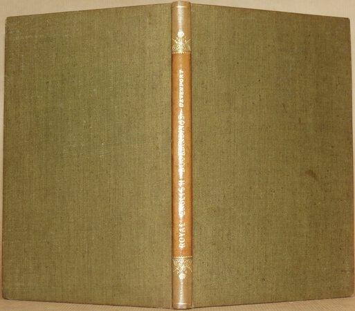 Royal English Bookbindings. by DAVENPORT, Cyril