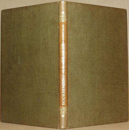 Bookbinding in France. by FLETCHER, William Fletcher