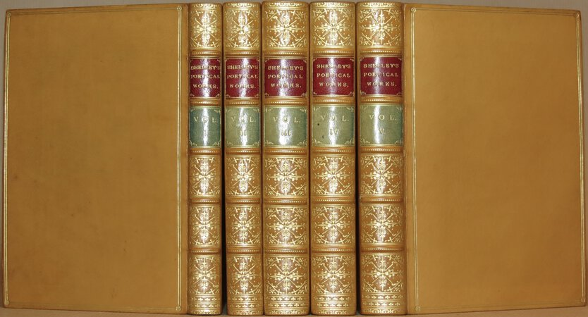 The Poetical Works of Percy Bysshe Shelley. by SHELLEY, Percy Bysshe