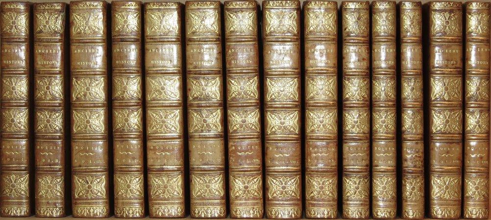 Histoire Ancienne des Égyptiens, des Carthaginois, des Assyriens, des Babyloniens, des Mèdes et des Perses, des Macédoniens, des Grecs. by ROLLIN, Charles