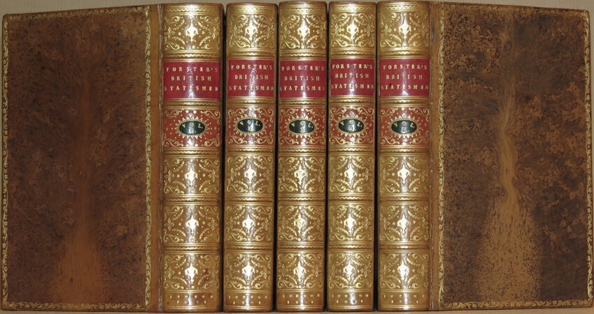 The Statesmen of the Commonwealth of England; With a Treatise on the Popular Progress in English History. by FORSTER, John