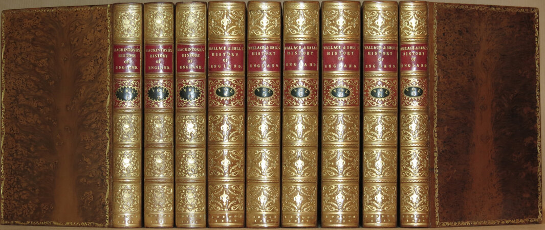 The History of England. by MACKINTOSH, Sir James; WALLACE, William