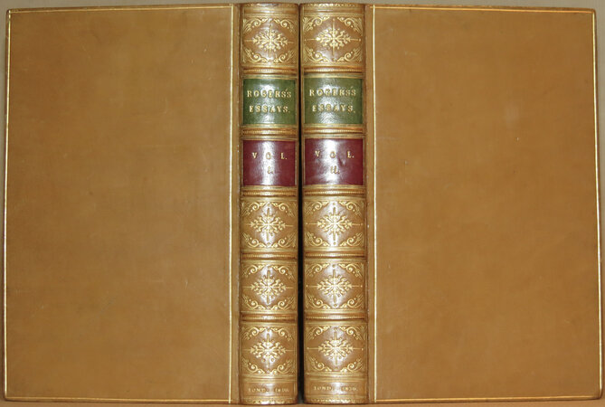 Essays, Selected from Contributions to the Edinburgh Revue. by ROGERS, Henry