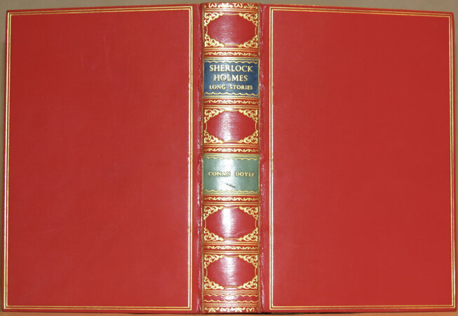 Sherlock Holmes. A Study in Scarlet; The Sign of Four; The Hound of the Baskervilles; The Valley of Fear. The Complete Long Stories. by CONAN DOYLE, Sir Arthur