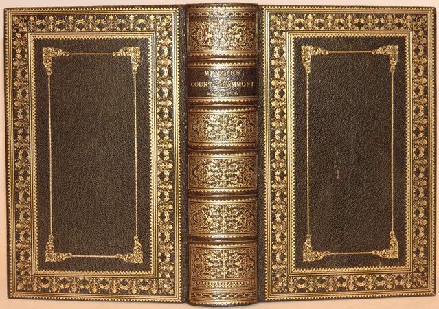 Memoires of Count Grammont. by GRAMMONT, Count (HAMILTON, Anthony)