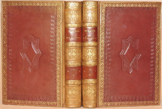 Hudibras, A Poem. With historical, biographical and explanatory notes, selected from Grey & other authors. To which are prefixed, a life of the author, and a preliminary discourse on the civil war. A new edition. Embellished with twelve engravings. by BUTLER, Samuel.