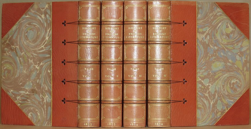History of English Literature. by TAINE, H. A.