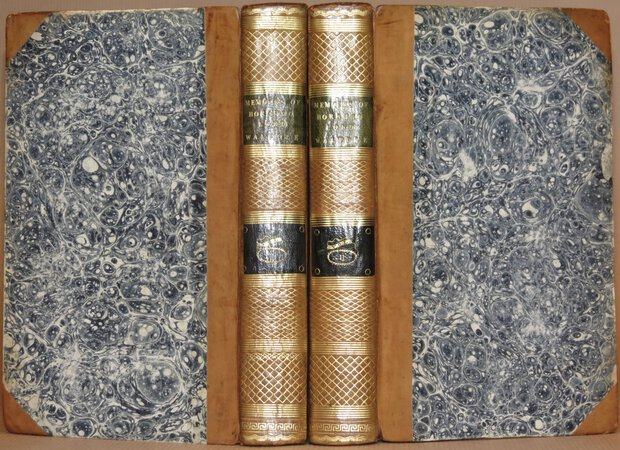 Memoirs of Horatio, Lord Walpole, selected from his correspondence and papers, and connected with the history of the times, from 1678 to 1757. Illustrated with portraits. Second edition. Corrected and enlarged. by [WALPOLE.] COXE, William.