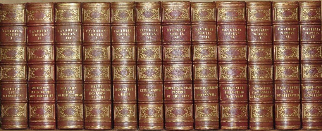 Waverley Novels by SCOTT, Sir Walter.