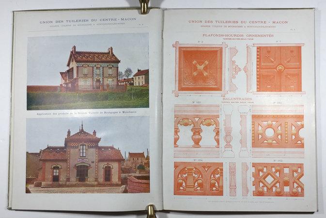 CERAMIQUE DECORATIVE by (Trade Catalogue - Architectural Decoration) (UNION DES TUILERIES DU CENTRE-MACON)