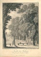 VUES DES TUILERIES (cover title). by (Tuileries) TROLL (Johann Heinrich).