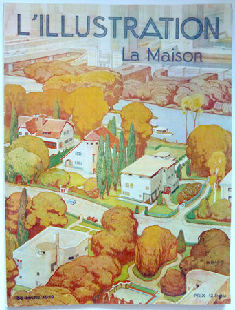 L'ILLUSTRATION / LA MAISON. by (Garden Cities) SORBETS, Gaston, ed.