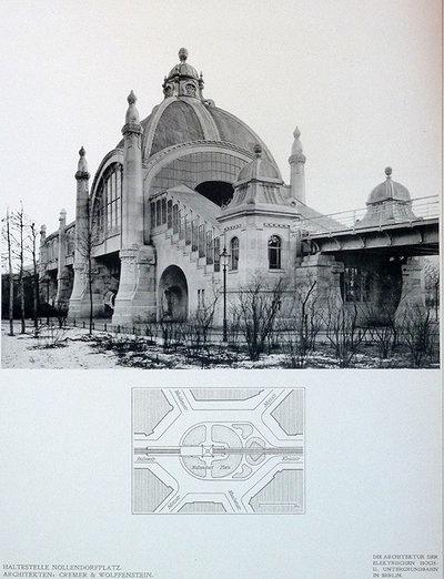 DIE ARCHITECTURE DER HOCH-UND UNTERGRUNDBAHN IN BERLIN by WITTIG, Paul.
