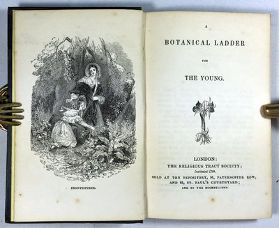 A BOTANICAL LADDER FOR THE YOUNG. by (Children's gardening) (ANONYMOUS)